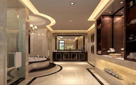 卫生间地板砖新古典风格装饰图片