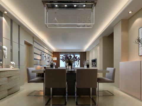 餐厅现代简约风格装饰设计图片