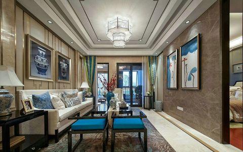 新中式风格200平米大户型室内装修效果图