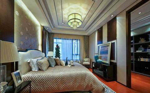 卧室灯具新中式风格装潢效果图