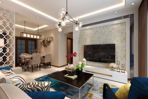 客厅灯具现代风格装饰图片