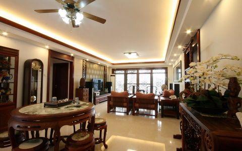 新中式风格99平米小户型室内装修效果图