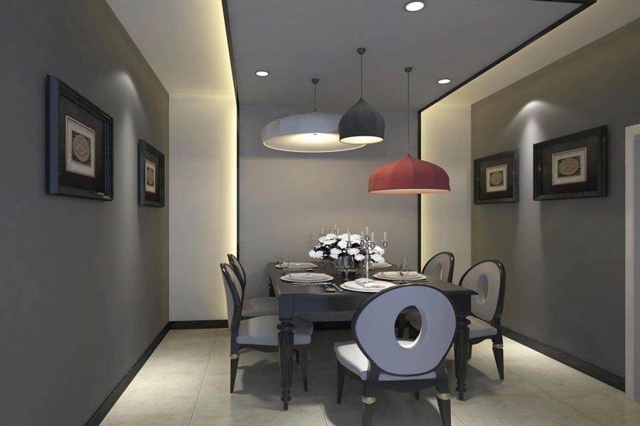 3室2卫2厅105平米简约风格