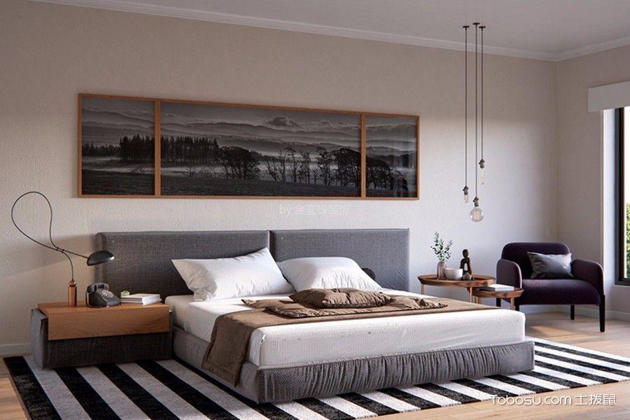 新中式风格134平米大户型新房装修效果图图片