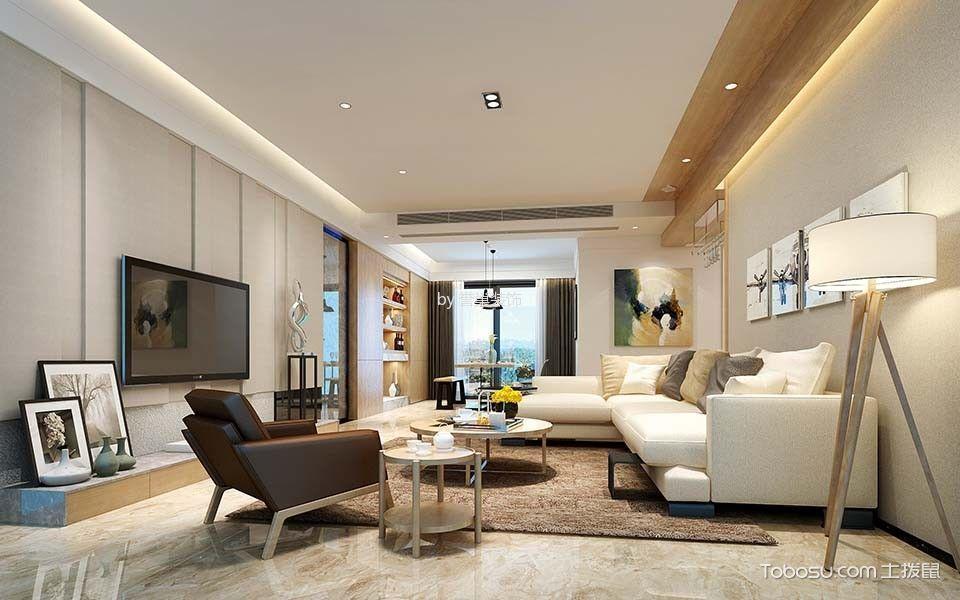 现代风格150平米四房两厅新房装修效果图