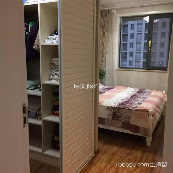 卧室黄色地板砖简欧风格效果图