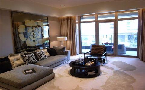 现代简约风格180平米大户型房子装饰效果图