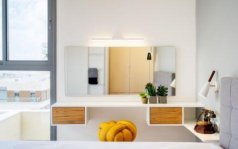湖光家园110㎡两居室现代简约风效果图