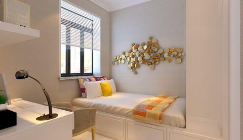 卧室白色榻榻米现代简约风格装修图片