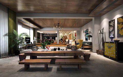 现代风格500平米别墅新房装修效果图