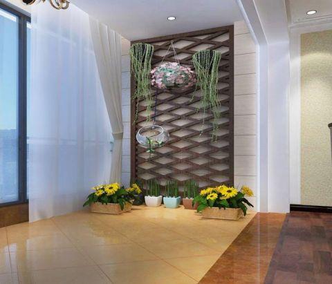 阳台窗帘简欧风格装修设计图片