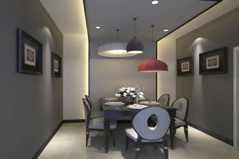 简约风格120平米套房新房装修效果图