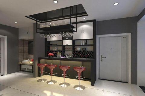 客厅地板砖简约风格装饰效果图