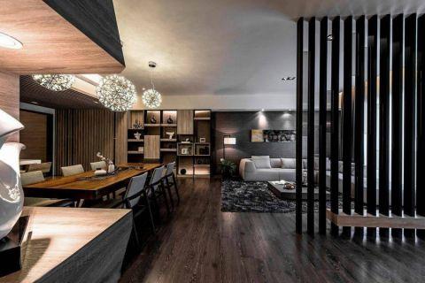 餐厅隔断现代风格装潢设计图片
