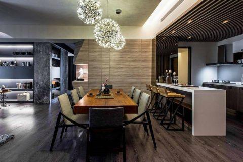 餐厅吧台现代风格装修效果图