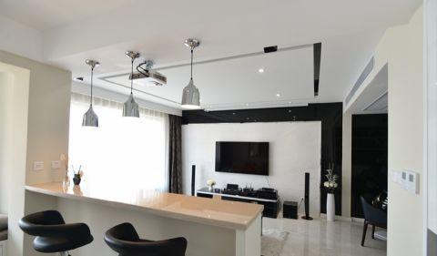客厅吧台现代简约风格装潢图片