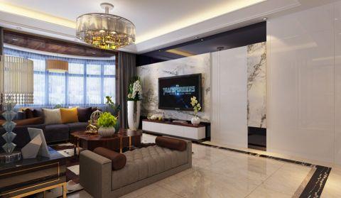 现代中式风格180平米四室两厅室内装修效果图