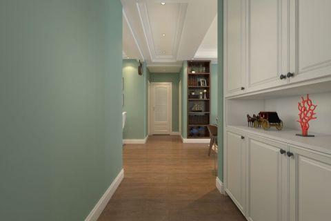 保利海上五月花三居室美式风格效果图