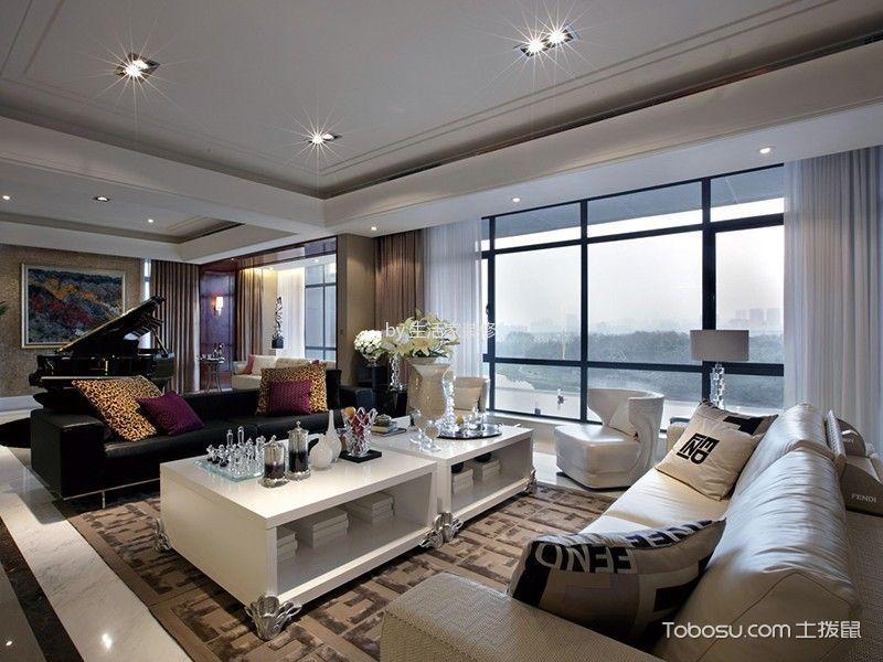 美式风格326平米别墅房子装饰效果图