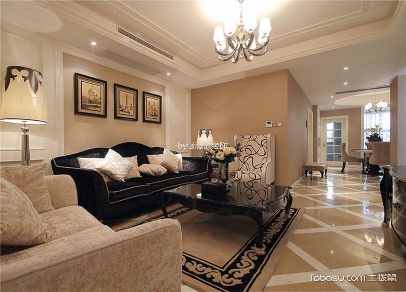 古典风格150平米3房2厅房子装饰效果图
