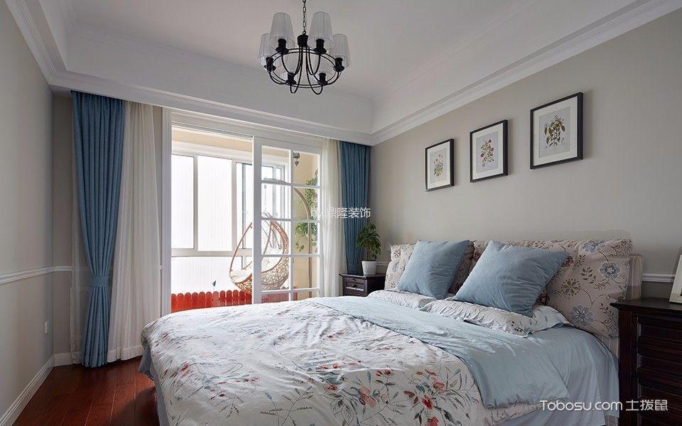 卧室灰色照片墙现代风格装饰图片