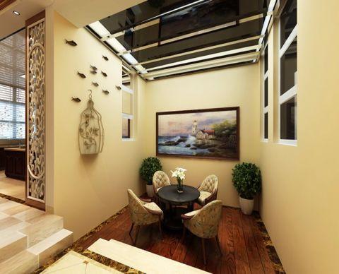 简欧风格180平米复式室内装修效果图