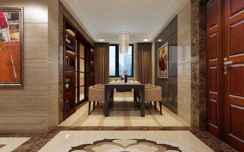 现代风格160平米大户型房子装饰效果图