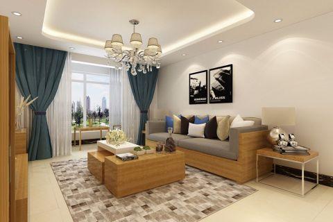 混搭风格135平米三室两厅室内装修效果图