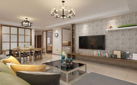 简欧风格170平米大户型房子装饰效果图