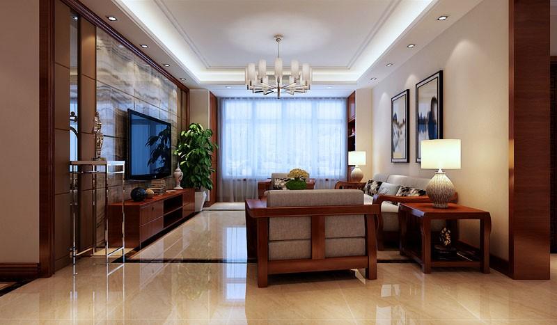 3室1卫1厅133平米新中式风格
