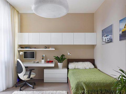 书房照片墙现代简约风格装修效果图