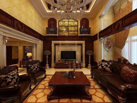 新古典风格145平米四室两厅室内装修效果图