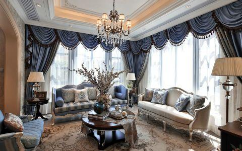 法式风格140平米四室两厅室内装修效果图