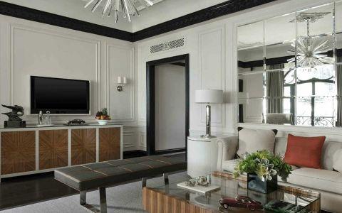 新古典风格150平米四室两厅室内装修效果图