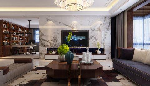 现代风格200平米大户型房子装饰效果图