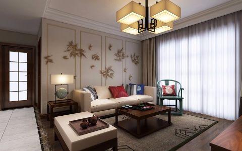 天下锦城120平三室两厅现代风格设计