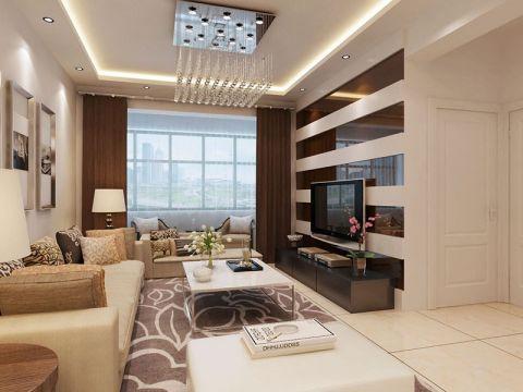现代简约风格150平米3房2厅房子装饰效果图