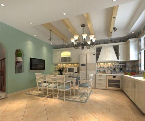 地中海风格400平米别墅新房装修效果图