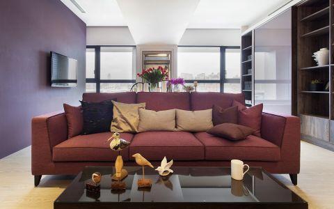 现代风格135平米三房两厅新房装修效果图