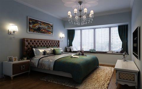 美式风格280平米楼房室内装修效果图