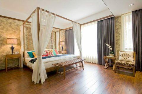 凯乐国际 三居室  东南亚风格效果图