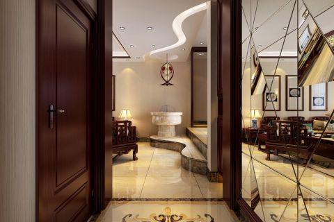 玄关门厅中式风格装潢效果图