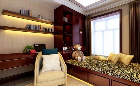 卧室榻榻米中式风格装修图片