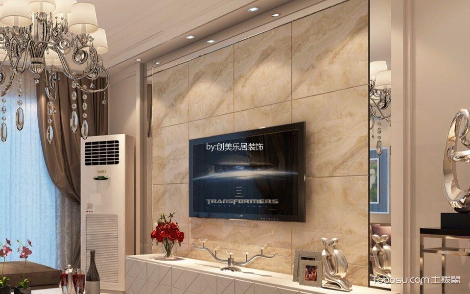 南昌赣电开元国际85平米简欧风格效果图