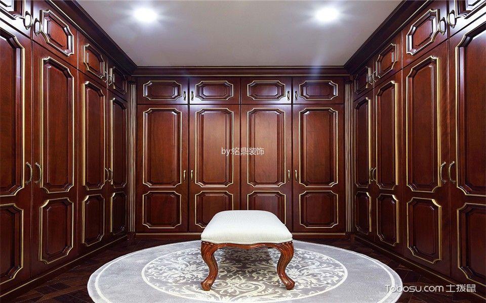 衣帽间 吊顶_法式风格180平米套房房子装饰效果图