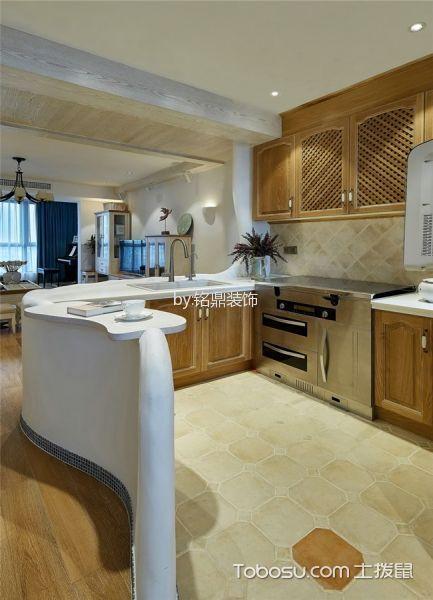 厨房白色吊顶现代风格效果图