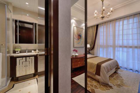 卫生间白色吊顶现代风格效果图