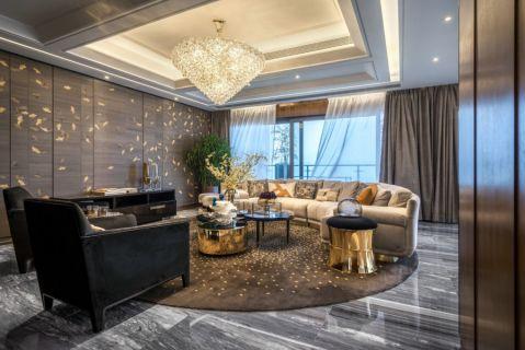 混搭风格300平米大户型新房装修效果图