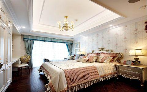 卧室白色吊顶法式风格装修图片