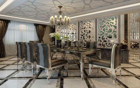 新古典风格230平米别墅新房装修效果图